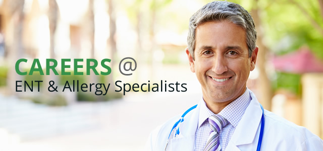 Careers at ENT & Allergy Specialists